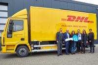 ORTEN Electric-Trucks für DHL in Bochum und Stuttgart im Einsatz / Bild: ORTEN Electric-Trucks