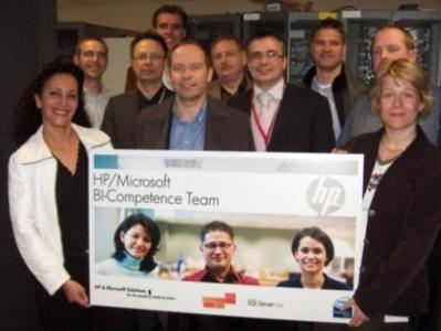 HP MS BI Competence Team