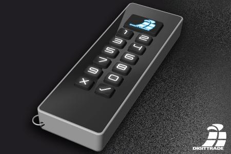Kobra verschlüsselter USB-C Stick mit integrierter Stomversorgung