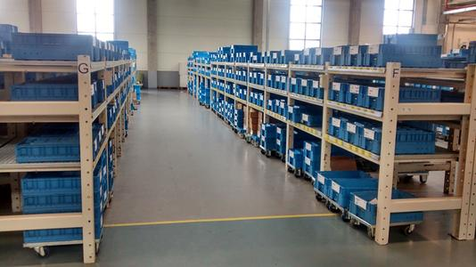 Die Warehouse-Management-Software PROLAG®World verwaltet auf 1.500 Quadratmetern 3.000 Paletten und in 10.000 Kisten 5.000 Hydraulikprodukte