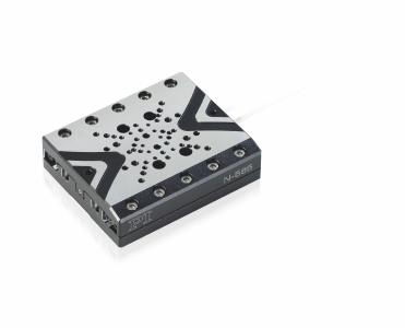 Only 20 mm in height and nanometer precision: N-565 linear stage with piezo-electric stepping drive (Image: PI)