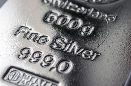 Silberbarren; Foto: Adobe Stockphoto