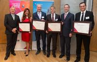 European Business Awards 2014/2015: Micromata in Berlin als National Champion ausgezeichnet