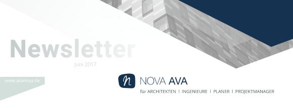 Newsletter der NOVA Building IT GmbH