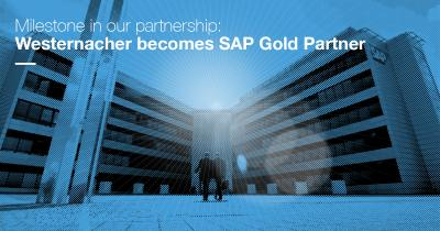 Westernacher becomes Gold Partner  in SAP PartnerEdge Program
