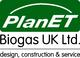 Logo PlanET Biogas UK Ltd.