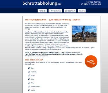 Schnell unser kostenloses und unkompliziertes Schrottabholung Köln