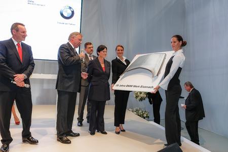 BMW Werk Eisenach feiert 20-jähriges Jubiläum und investiert knapp 20 Mio. Euro in die weitere Zukunft