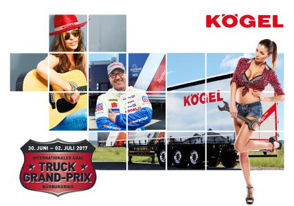 Kögel highlights at the Truck Grand Prix