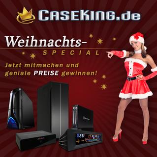 Weihnachts Gewinnspiel bei Caseking