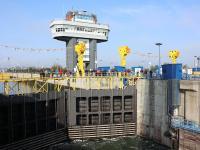 Schleuse am Donau-Schwarzmeer-Kanal in Agigea, Rumänien (Bildquelle: DSD NOELL)