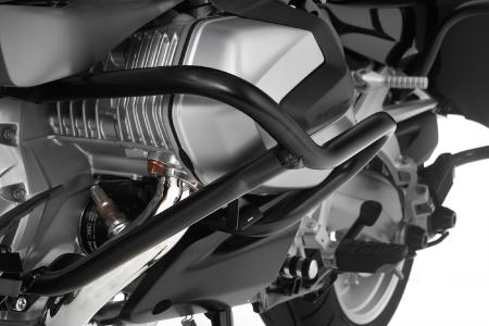 Protects the ShiftCam cylinder head particularly effectively: Wunderlich engine guard