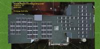 Vogelperspektive Belegungsplan Photovoltaik Seniorenheim 29,25 kWp © Powertrust