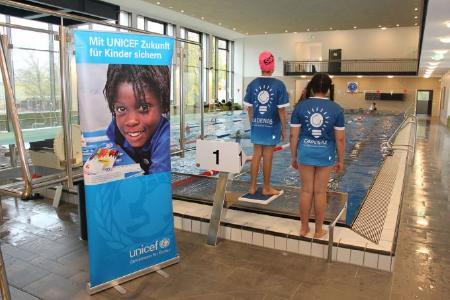 CADENAS als Sponsor beim UNICEF Schwimmen des Augsburger Schwimmvereins
