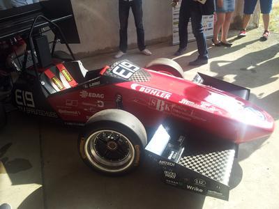 Vorstellung des neuen Rennwagens LR14 des Lion Racing Teams