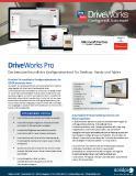 Datenblatt DriveWorks Pro
