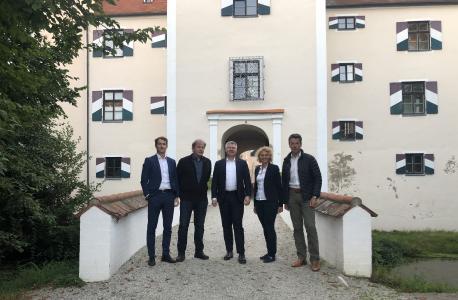 Foto (von links nach rechts): Sven Matzelsberger, Jürgen Eichhöfer, André Kudra, Veronika Linder, Martin Weber
