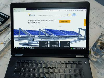 Renusol facilitates the development of PV sys-tems with its new website