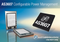 austriamicrosystems introduces a highly integrated power management unit with configurable start-up sequences
