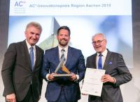 Preisübergabe - Foto: AGIT mbH/Carl Brunn