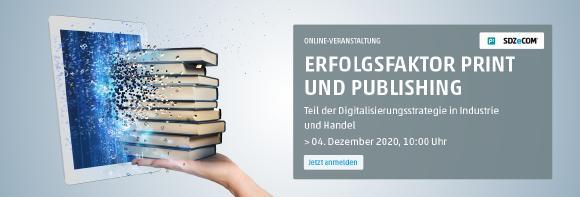 Online-Veranstaltung: Print & Publishing - 04. Dezember 2020