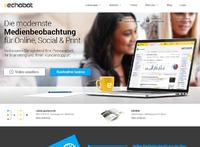 Echobot Media Technologies GmbH relauncht Website