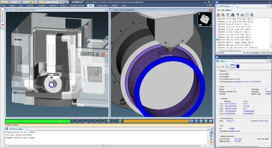 Additive Simulation in VERICUT
