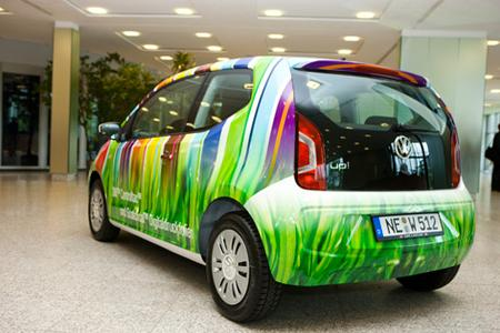 3M steht für Werbung, Farbe und Design sowie für Nachhaltigkeit als Unternehmensprinzip - beides ist in den Siegerentwurf eingeflossen