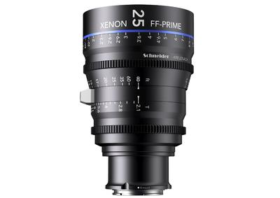 FF-Prime lenses by Schneider-Kreuznach now also with Sony E-Mount