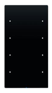 Schlichtheit und ungewöhnlicher Aufbau von R.1 Touch Sensor KNX und R.3 Touch Sensor KNX (Bild) erregten die Aufmerksamkeit vieler Juroren.