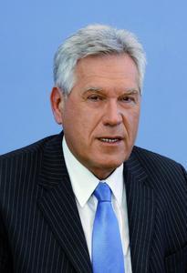 Bundesminister für Wirtschaft und Technologie Michael Glos