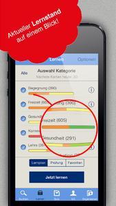 iPhone Vokabeltrainer Lernstand