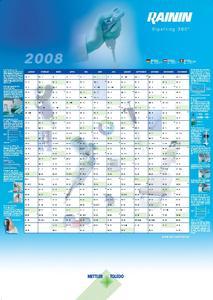 Jetzt bestellen: Der Neue RAININ Kalender 2008!