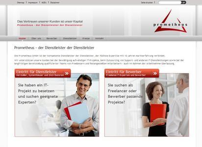 Neuer Webauftritt der Prometheus GmbH verbindet Profis und Dienstleister