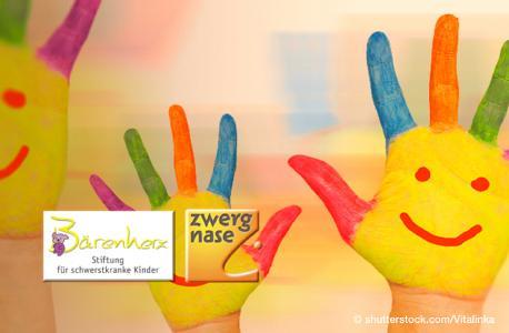 Begünstigte Organisationen 2018: Bärenherz & ZWERG NASE Haus
