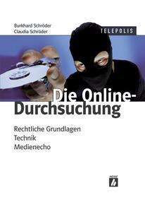 """Das Titelbild des Buches """"Die Online-Durchsuchung"""""""