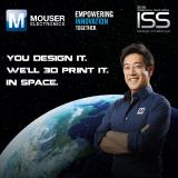 Mouser Electronics and Grant Imahara Release Video on First-of-Its-Kind I.S.S. Design Challenge