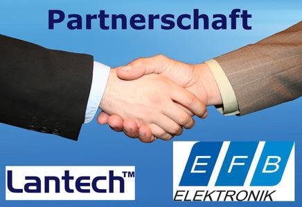 Lantech Communications schließt Distributionsvertrag mit EFB Elektronik GmbH