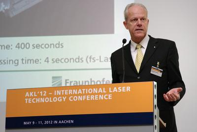 International Laser Technology Congress AKL'12: Kurzpulslaser erreichen den industriellen Alltag
