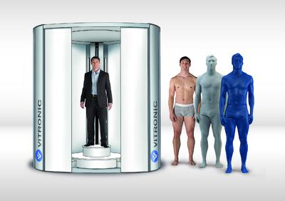 "New 3D-body scanner with ""Scan2Print"" function is in demand"