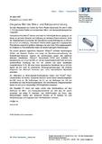 PDF der Pressemeldung zur Control 2007