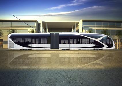 Die Trolleybusse für Saudi-Arabien bestechen durch das neue, zukunftsweisende Tram-Design