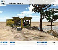 E-Learning solution for mobile water treatment.