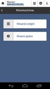 Meckern per App