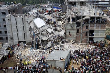 Rana Plaza, Savar Bangladesh / Quelle: Wikipedia