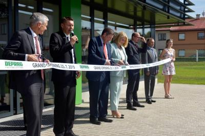Inauguration of a new building at DEPRAG CZ