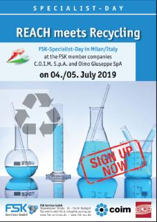 FSK - Specialist Day REACH meets Recycling