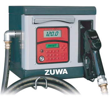 BAU 2011: ZUWA Non Commercial Fuel Dispensers with Data Management