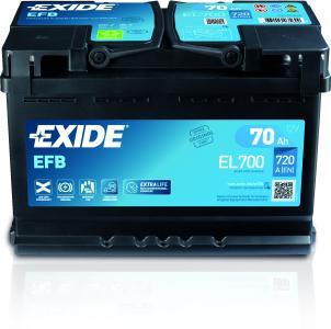 Exide EFB Front