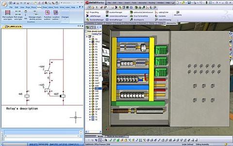 Nahtlos ineinander verzahnt: Elecworks™ und SolidWorks